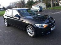 USED 2013 13 BMW 1 SERIES 1.6 114D SE 5d 94 BHP EXCELLENT CONDITION NEW SHAPE 1 SERIES WITH FSH CHEAP TO TAX RUN AND INSURE