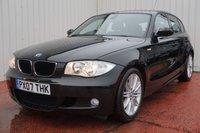 2007 BMW 1 SERIES 1.6 116I M SPORT 5d 114 BHP £4695.00