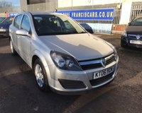 USED 2006 06 VAUXHALL ASTRA CLUB 16V TWINPORT