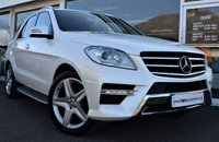 2013 MERCEDES-BENZ M CLASS 2.1 ML250 BLUETEC AMG SPORT 4x4 5d AUTO 204 BHP STOP/START  COMMAND SHIFT £24990.00