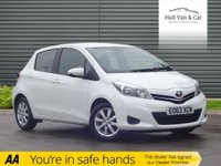 USED 2013 63 TOYOTA YARIS 1.3 VVT-I TR 5d 98 BHP VERY LOW MILES, AIR CON,ALLOYS