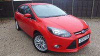 USED 2013 63 FORD FOCUS 1.6 ZETEC TDCI 5dr £20 Tax, Bluetooth