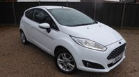 USED 2015 15 FORD FIESTA 1.2 ZETEC 3dr Air Con, Low Miles, Bluetooth