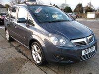 2011 VAUXHALL ZAFIRA 1.8 SRI 5d 138 BHP £4795.00