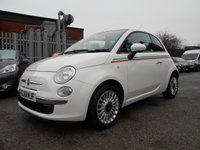 USED 2011 61 FIAT 500 1.2 LOUNGE 3d 69 BHP 1 OWNER FROM NEW 41,000 £30 ROAD TAX