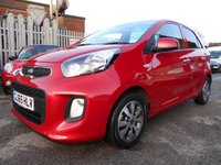 USED 2015 65 KIA PICANTO 1.0 SR7 5d 65 BHP 1 OWNER 16,500 MILES £20 ROAD TAX