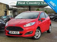 USED 2014 14 FORD FIESTA 1.0 ZETEC 3d 99 BHP Only 2 Owners From New