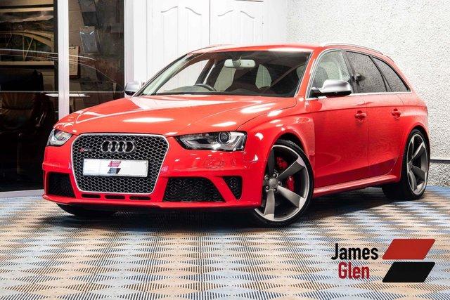 USED 2014 64 AUDI RS4 AVANT 4.2 RS4 AVANT FSI QUATTRO 5d AUTO 444 BHP 2 Owners | Remaining Audi Warranty Until June 2018