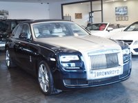 USED 2015 65 ROLLS-ROYCE GHOST 6.6 V12 SWB 4d AUTO 563 BHP REAR THEATRE+HUGE SPEC+