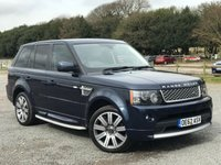 USED 2012 62 LAND ROVER RANGE ROVER SPORT 3.0 SDV6 AUTOBIOGRAPHY SPORT 5d AUTO 255 BHP - FULL AUTOBIOGRAPHY KIT - TWO TONE LEATHER INTERIOR  - HEATED SEATS FRONT AND BACK  - HEATED STEERING WHEEL  - ADAPTIVE CRUISE CONTROL  - LOGIC 7 SOUND SYSTEM  - DAB RADIO  - KEYLESS ENTRY AND GO  - ELECTRONIC TAILAGTE  - XENON HEADLAMPS  - AUTO HIGH BEAM ASSIST - AUTO LIGHTS AND WIPERS - AIR SUSPENTION  - ALL WHEELS HAVE JUST BEEN DIAMOND CUT REFURBISHED