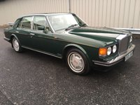 1987 BENTLEY MULSANNE S 6.8 AUTO, BALMORAL GREEN WITH CREAM LEATHER! £11995.00