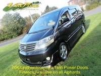 2007 TOYOTA ALPHARD TOYOTA ALPHARD AS PRIME SELECTION II 2.4 Auto Alcantara / Leather £8000.00