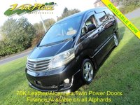 USED 2007 57 TOYOTA ALPHARD TOYOTA ALPHARD AS PRIME SELECTION II 2.4 Auto Alcantara / Leather +70K+LEATHER/ALCANTARA+TWIN POWER DOOR+