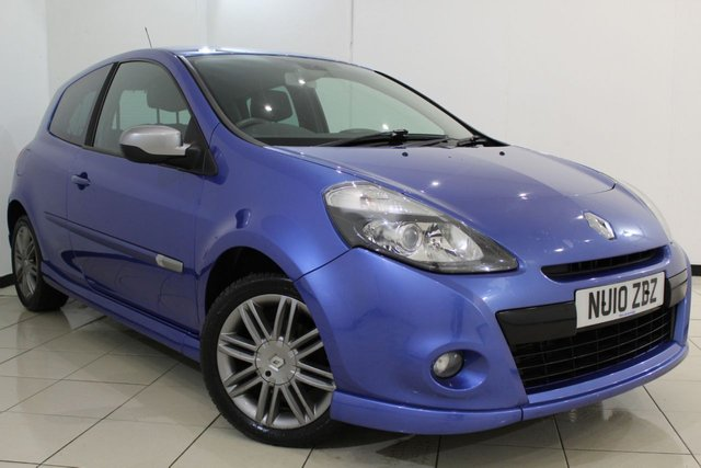 View our 2010 10 RENAULT CLIO 1.5 GT DCI 3DR 105 BHP