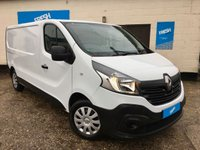 USED 2014 64 RENAULT TRAFIC 1.6 LL29 BUSINESS DCI PANEL VAN * 0% Deposit Finance Available