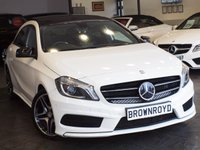 USED 2015 64 MERCEDES-BENZ A CLASS 2.1 A200 CDI AMG SPORT 5d AUTO 136 BHP PANORAMIC ROOF+NIGHT PACK+FSH