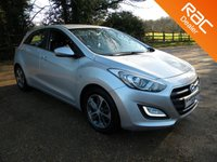 USED 2015 15 HYUNDAI I30 1.4 SE 5d 99 BHP Still Under Hyundai Warranty , Bluetooth . Good Mpg
