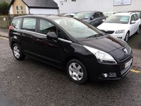 USED 2010 59 PEUGEOT 5008 1.6 HDI SPORT 5d 110 BHP PRICE INCLUDES A 6 MONTH AA WARRANTY DEALER CARE EXTENDED GUARANTEE, 1 YEARS MOT AND A OIL & FILTERS SERVICE. 6 MONTHS FREE BREAKDOWN COVER