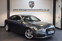USED 2015 64 AUDI A6 2.0 TDI ULTRA S LINE 4DR AUTO 188 BHP + HALF BLACK LEATHER INTERIOR + SERVICE HISTORY + 1 OWNER FROM NEW + SATELLITE NAVIGATION + BLUETOOTH + SPORT SEATS + CRUISE CONTROL + DAB RADIO + CLIMATE CONTROL + RAIN SENSORS + PARKING SENSORS + 18 INCH ALLOY WHEELS +