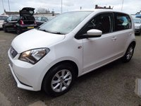 USED 2014 64 SEAT MII 1.0 TOCA 5d 59 BHP  Very Clean Condition, Low Mileage, Seat Service History