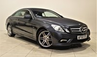 USED 2010 60 MERCEDES-BENZ E CLASS 3.0 E350 CDI BLUEEFFICIENCY SPORT 2d AUTO 231 BHP +  SAT NAV + AIR CON + SERVICE HISTORY + LEATHER SEATS