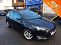 2014 FORD FOCUS 1.6 ZETEC 5d AUTO 124 BHP £9499.00