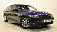 USED 2011 11 BMW 5 SERIES 2.0 520D SE 4d 181 BHP + 2 PREV OWNER + SAT NAV + AIR CON + LEATHER SEATS + SERVICE HISTORY