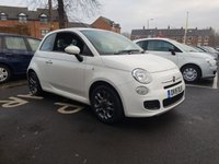 """USED 2015 15 FIAT 500 S 3 DOOR  """"S"""" MODEL WITH ABARTH STYLE INTERIOR INCLUDING TFT SCREEN AND LEATHER TRIM!!..EXCELLENT FUEL ECONOMY!!..LOW CO2 EMISSIONS..£30 TAX!!..FULL HISTORY..ONLY 11887 MILES FROM NEW"""