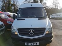 USED 2015 15 MERCEDES-BENZ SPRINTER 2.1 313 CDI MWB 1d 129 BHP 15 PLATE MEDIUM WHEEL BASE