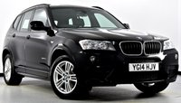 USED 2014 14 BMW X3 2.0 20d M Sport xDrive 5dr Auto Pan Roof, Sat Nav, Hot Seats