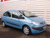 USED 2002 02 CITROEN XSARA PICASSO 1.6 PICASSO SX 5d 97 BHP Great Value MPV, Good MPG, Low Ins Group
