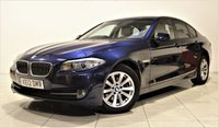 USED 2012 12 BMW 5 SERIES 2.0 520D SE 4d AUTO 181 BHP + 1 PREV OWNER +  SERVICE HISTORY + AIR CON + AUX + LEATHER SEATS