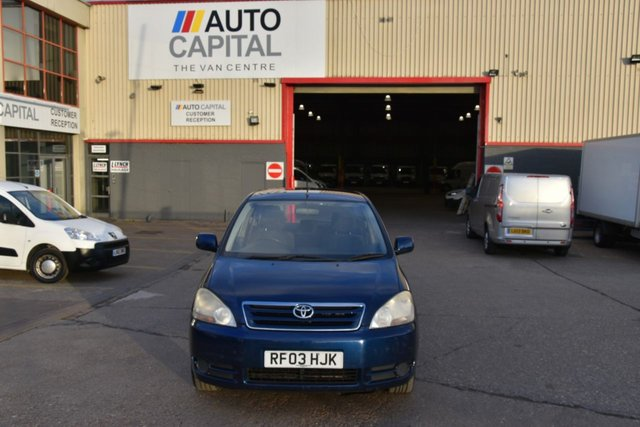 2003 03 TOYOTA AVENSIS 2.0 VERSO GS VVT-I 5d 146 BHP AIR CONDITIONING