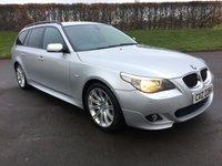 2005 BMW 5 SERIES 3.0 530D SPORT TOURING 5d 215 BHP £4995.00