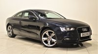 USED 2012 12 AUDI A5 2.0 TDI SE 3d 177 BHP + 2 PREV OWNERS + SAT NAV + AIR CON + LEATHER SEATS