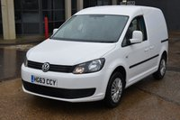USED 2013 63 VOLKSWAGEN CADDY 1.6 C20 TDI TRENDLINE 5d 101 BHP LR SWB FWD REAR PARKING SENSORS ONE OWNER FROM NEW, FULL SERVICE HISTORY