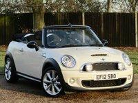 2012 MINI CONVERTIBLE 1.6 COOPER S AVENUE 2d 184 BHP £10990.00