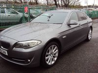 2010 BMW 5 SERIES 3.0 530D SE 4d AUTO 242BHP £10790.00