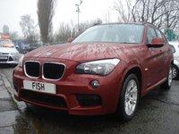 2012 BMW X1 2.0 XDRIVE20D M SPORT 5d 174BHP £9390.00
