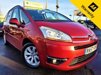 USED 2008 57 CITROEN C4 GRAND PICASSO 2.0 EXCLUSIVE HDI EGS 5d 135 BHP! p/x welcome! AUTO! BOTTLE CHILLER! PANORAMIC WINDSCREEN! PARKING AID! 7 SEATS! SUN BLINDS! CRUISE & CLIMATE CONTROL! GOOD SERVICE HISTORY! EXTRA STORAGE! NEW MOT & SERVICE!  AUTO+BOTTLE CHILLER+PARKING AID+PANORAMIC WINDSCREEN+SUN BLINDS+EXTRA STORAGE+CRUISE & CLIMATE CONTROL+GOOD SERVICE HISTORY+NEW MOT & SERVICE!