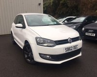 USED 2013 62 VOLKSWAGEN POLO 1.2 MATCH 3d 59 BHP STUNNING ONE OWNER CAR !!!