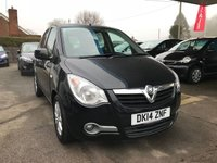 USED 2014 14 VAUXHALL AGILA 1.2 SE 5d 93 BHP NEED FINANCE? WE STRIVE FOR 94% ACCEPTANCE