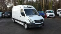 2014 MERCEDES-BENZ SPRINTER 2.1 313 CDI MWB FREEZER VAN WITH STAND BY £12995.00