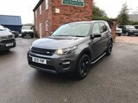 USED 2015 15 LAND ROVER DISCOVERY SPORT 2.0 TD4 SE TECH 5d 150 BHP very low mileage immaculate vehicle