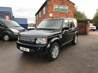 USED 2011 61 LAND ROVER DISCOVERY 3.0 4 SDV6 XS 5d AUTO 255 BHP Comes fully serviced, Finance available