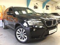 USED 2011 61 BMW X3 2.0 XDRIVE20D SE 5d AUTO 181 BHP