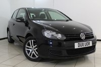 USED 2011 11 VOLKSWAGEN GOLF 1.4 TWIST 3DR 79 BHP SERVICE HISTORY + 0% FINANCE AVAILABLE T&C'S APPLY + BLUETOOTH + AIR CONDITIONING + AUXILAIRY PORT + RADIO/CD + 16 INCH ALLOY WHEELS