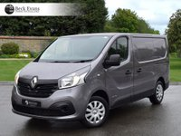 USED 2016 16 RENAULT TRAFIC 1.6 SL27 BUSINESS PLUS DCI S/R P/V 1d 115 BHP PLY LINED CHOICE OF VANS  PLY LINED LOW MILEAGE CHOICE OF VANS