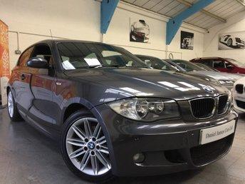 2008 BMW 1 SERIES 2.0 118I M SPORT 3d 141 BHP £5990.00