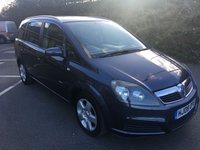 USED 2008 08 VAUXHALL ZAFIRA 1.6 BREEZE 5d 105 BHP